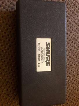SHURE professional microphone model SM81  - LC