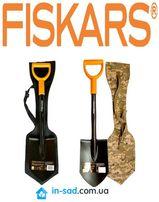 Лопата Фискарс, короткая Solid Fiskars Солид 131417 Официальный товар!