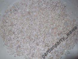Grys żwirek piasek akwarystyczny biały, podłoże dolomit 4-8mm malawi