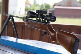 MOCNA Wiatrówka B2 4,5 mm/5,5 mm KANDAR + lluneta 4x20+śrut