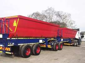 SIDE TIPPER TRUCKS FOR HIRE (34 TON).