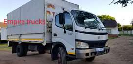 Toyota Dyna 7.195, 4ton dropside truck for sale