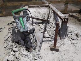 Демонтаж стен стяжки (кирпич бетон шлак)ПРОКАТ отбойника вывоз мусора