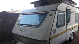 GYPSEY CARAVETTE 5 1990 MODEL WITH FULL TENT