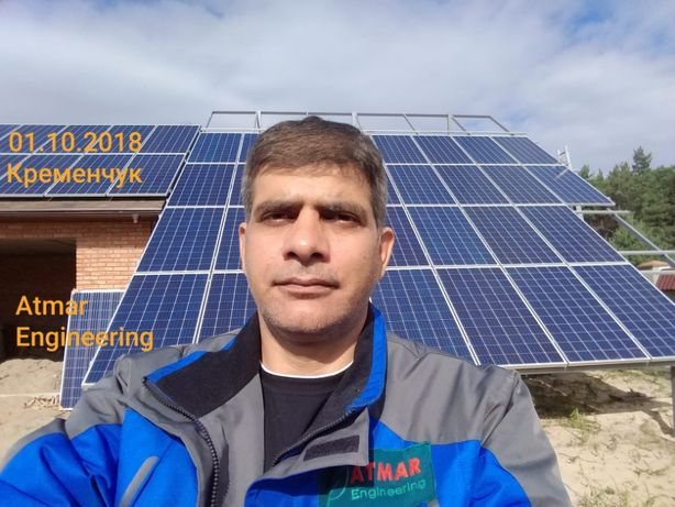 Солнечные электростанции под ключ ЗЕЛЕНЫЙ ТАРИФ 10 кВт Кременчуг - изображение 3