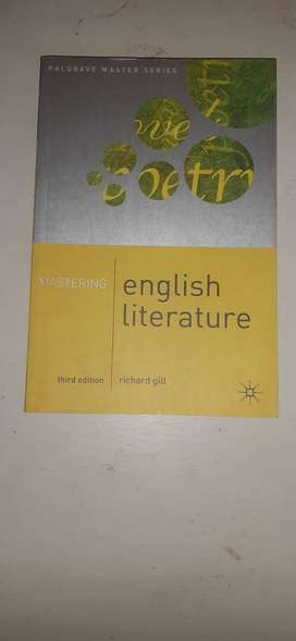 Mastering English Literature, 3rd edition.