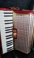 Akordeon Hohner Concerto Germany 72basy Czerwień OBNIŻKA na 2300zł