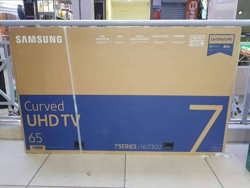 65inches Samsung 4k Ultra HD Brand new and original. Order we deliver 0