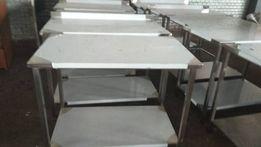 Стол ОТ производителя 1000х600х850 производственный с полкой