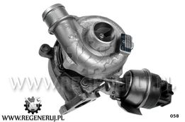 Turbosprężarka 03G145702H Audi A4 B7 2.0 TDI 170 163KM quattro BRD BVA