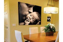 Печать фотографий рисунок портрет по фото на холсте модульные картины