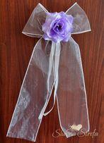 Kokarda 50cm kokarda z różą