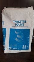 Tabletki solne , sól tabletkowa do uzdatniania wody