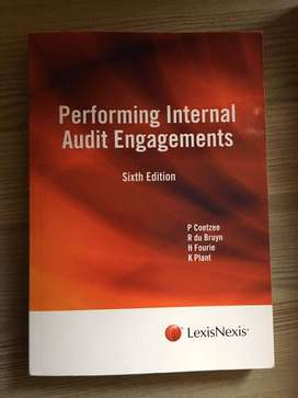 Performing Internal  Audit Engagements Sixth Edition