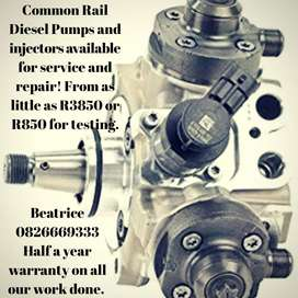 Common Rail Diesel Pumps, Toyota, Hilux, Ford, BMW and more