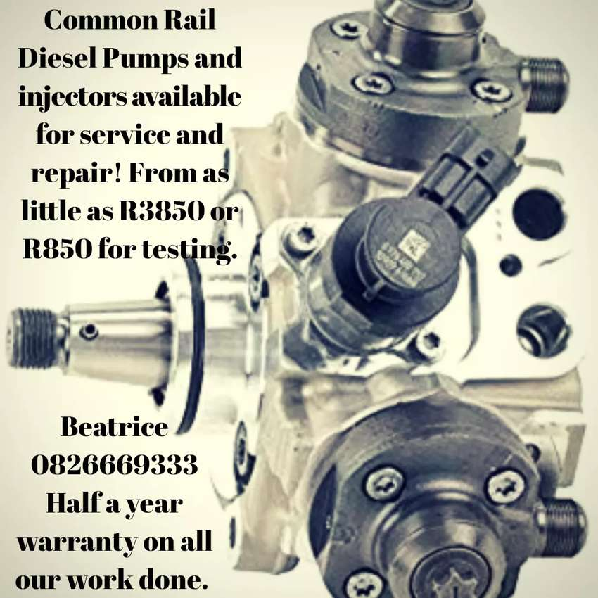 Common Rail Diesel Pumps, Toyota, Hilux, Ford, BMW and more 0