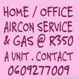 HOME /OFFICE AIRCON SERVICING & REGASSING