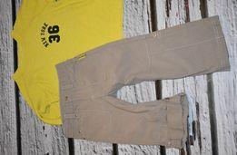 spodnie bojówki, roll up Coccodrillo 98