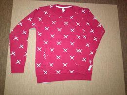 Czerwona bluza firmy Diamantewear