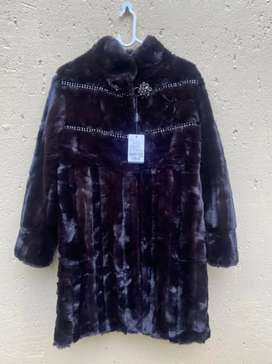 Ladies' Winter High Quality Faux Fur Coat