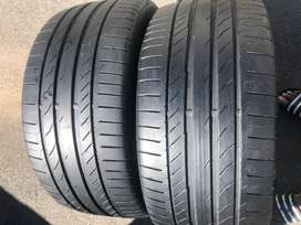 275/40R20 Continental ContiSportContact 5 Run Flat Tyres | #BMWX5Tyres