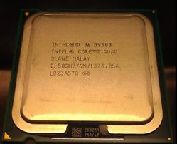Процессор INTEL Core 2 Quad Q9400/Q9300 - 2000 р