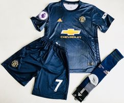 Dziecięcy strój Manchester United 18/19 #7 Alexis Adidas, 155-165 cm