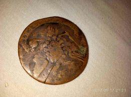 Монета 1764года , номиналом 5 копеек