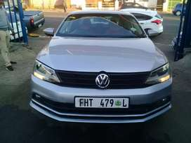 2015 Volkswagen Jetta 6 1.6 TSI with a leather seat Automatic