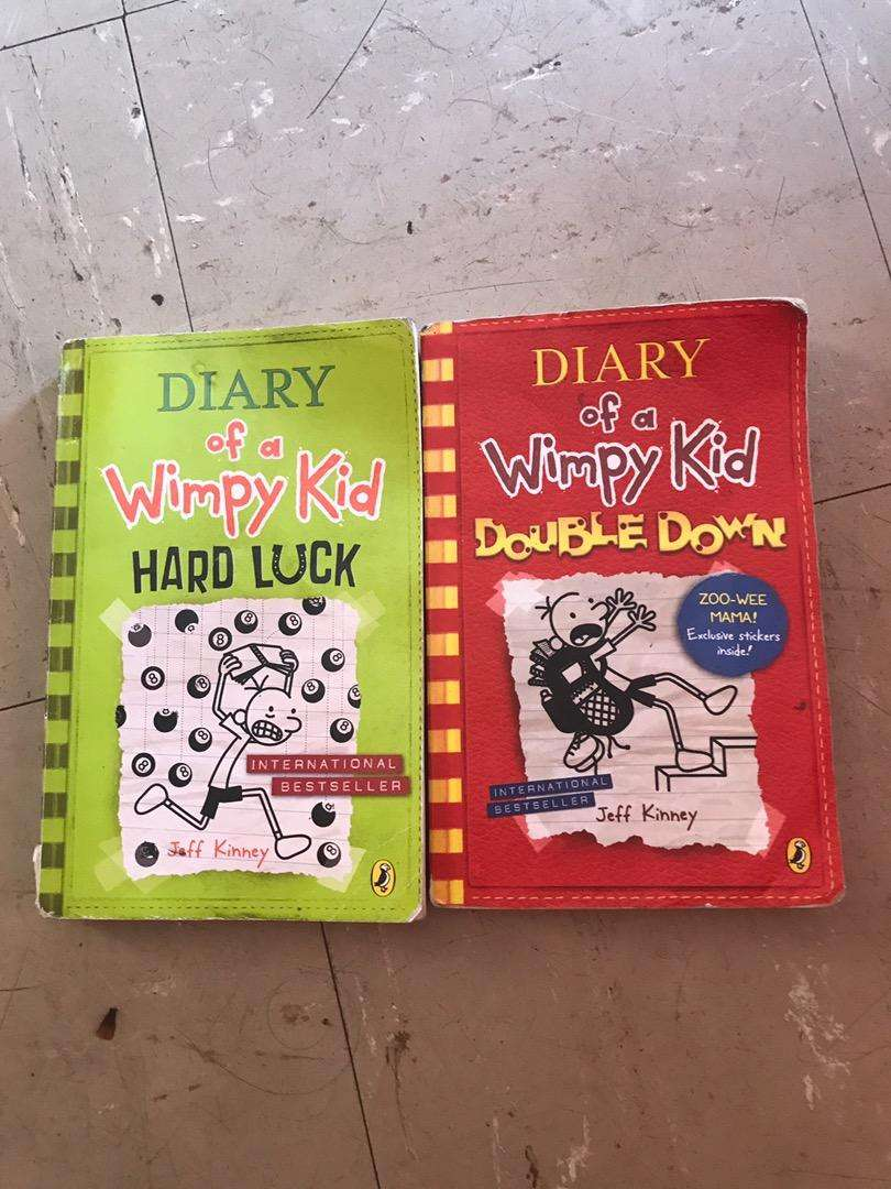 Diary of a wimpy kid double down+hard luck 0