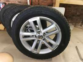 VW Amarok 19' Rims and Tyres