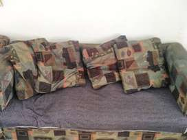 Comfy 4seater & single seater couch