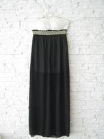 suknia czarna vintage nowa boho Zara Mango Mohito H&M Orsay Reserved
