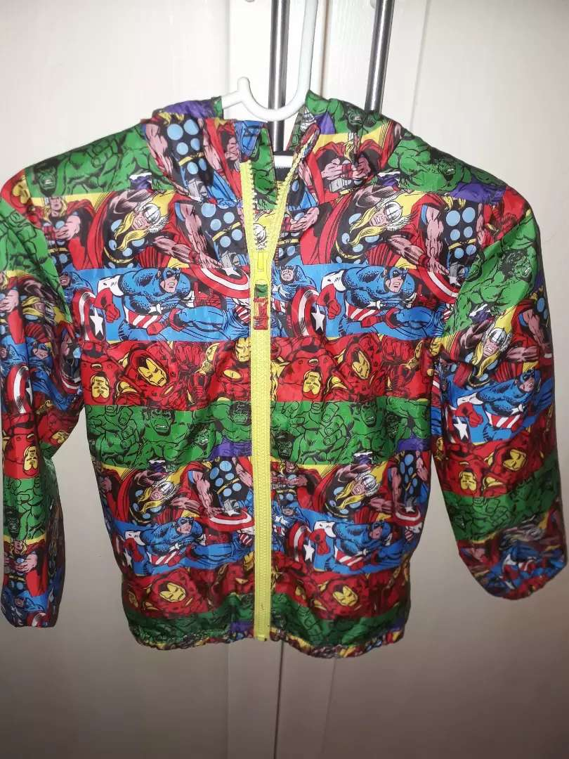 Marvel Comics - Action Hero's Raincoat Boys 6 - 7yrs 0