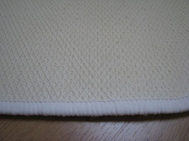 Białe, owalne dywaniki, chodniczki antypoślizgowe 65x44 cm Krapkowice - image 5
