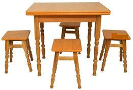 Новий недорогий кухонний набір стіл +4 табуретки 950грн( стільчики 135