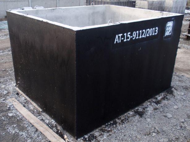 szambo betonowe szczelne zbiornik betonowy na ścieki gnojowicę Włoszczowa - image 1