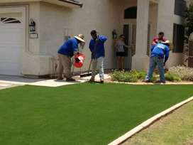 Artificial grass supply and installation