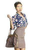 Платье стилизованное под блузу с юбкой