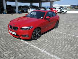 2018 BMW 220I MSPORT COUPE A/T