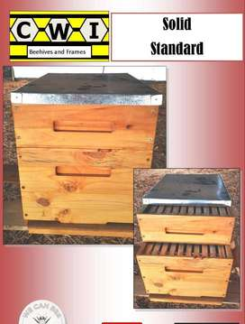 CWI Beehives and Frames