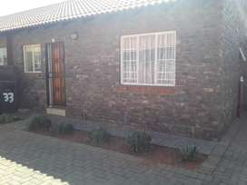 2 bed simplex. Gated community. The Orchards. Pretoria North West.