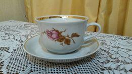 Новый фарфоровый чайный сервиз (СССР), 6 персон