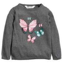 Кофта h&m 1,5-2 года, с бабочками
