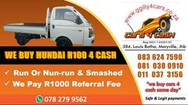 WE ARE LOOKING HYUNDAI H100 TO BUY