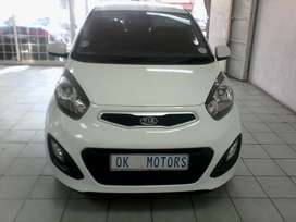 WHITE KIA PICANTO 1.2-ENGINE
