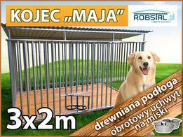 Kojec dla psa MAJA 3x2 legowiska klatki kojce dla psów PRODUCEN