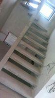 Сходи бетонні Проектування та Виготовлення залізобетонних Сходів