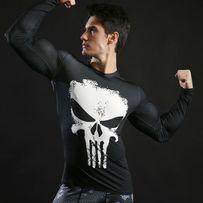 Koszulka Termoaktywna Rashguard NA SIŁOWNIE Marvel Punisher roz. XL