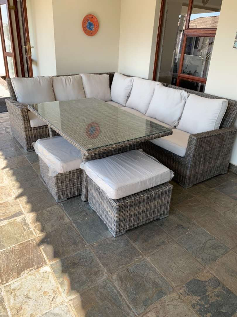 Patio tables and couches 0